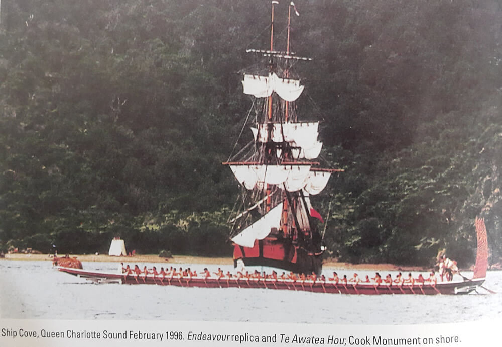 Endeavour Replica And Awatea Hou Photo Shared By Maori Eco School Cruises